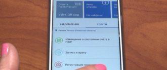 заявление на справку о наличии отсутствия судимости через мобильное приложение госуслуги