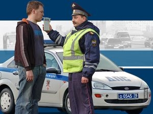Выполнение закона при проверке водителей на состояние опьянения