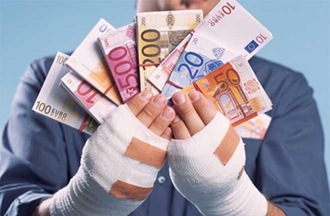 денежные средства за нанесенный ущерб состоянию здоровья